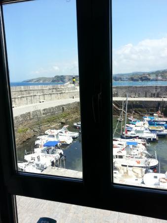 La Lonja de Comillas : View from the restaurant