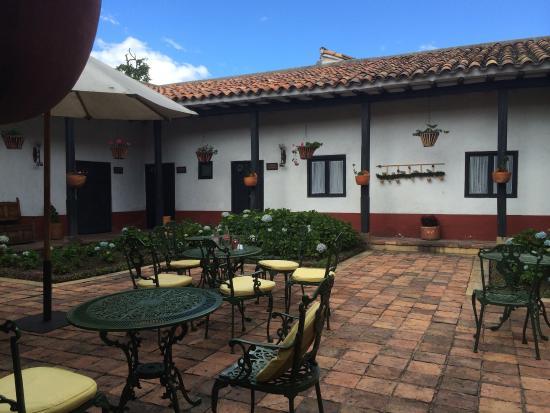 Cucunuba, Колумбия: restaurante y habitaciones