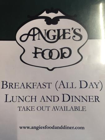 Angie's Coffee Shop : Yum!