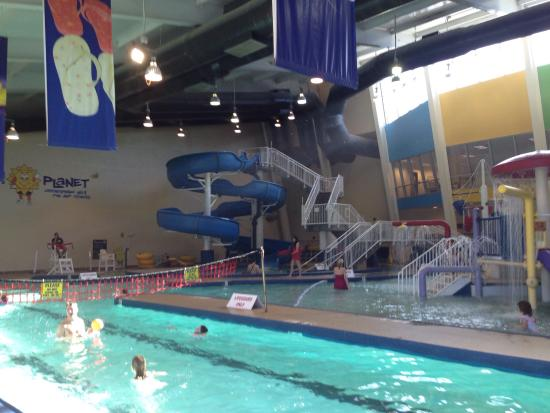 Pools And Slide Picture Of Ray 39 S Splash Planet Charlotte Tripadvisor