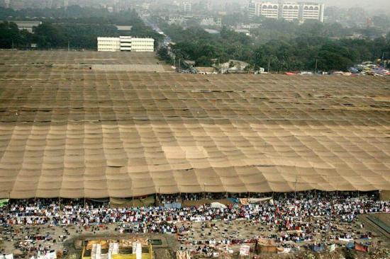 National Parliament House: TONGI IZTIMA DHAKA, BANGLADESH