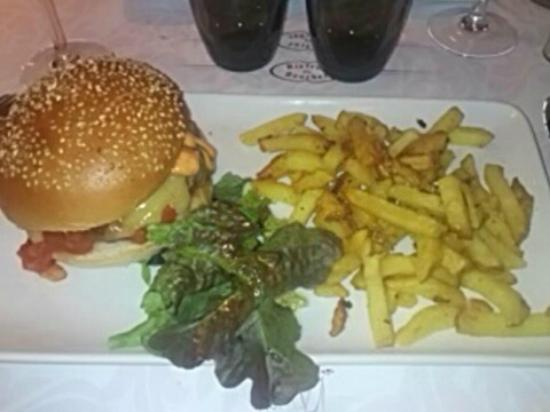 Bistrot du boucher : Hamburger