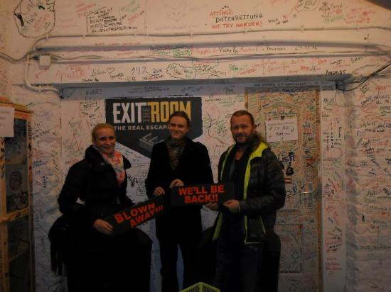 The ultimate live escape adventure - Picture of Exit The Room Vienna ...