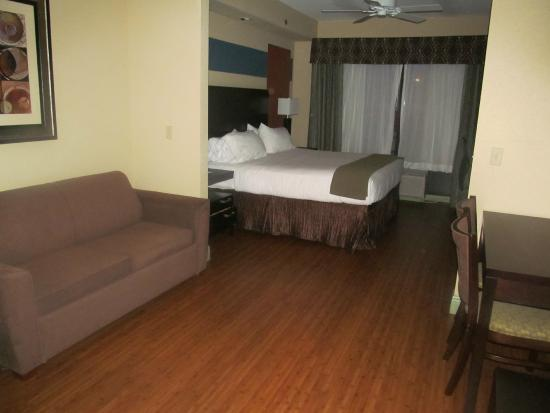 Holiday Inn Express Hotel & Suites La Place : King Room