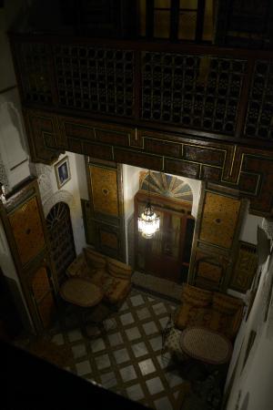 Dar Bouanania: central hall