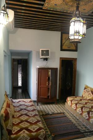 Dar Bouanania: top floor room