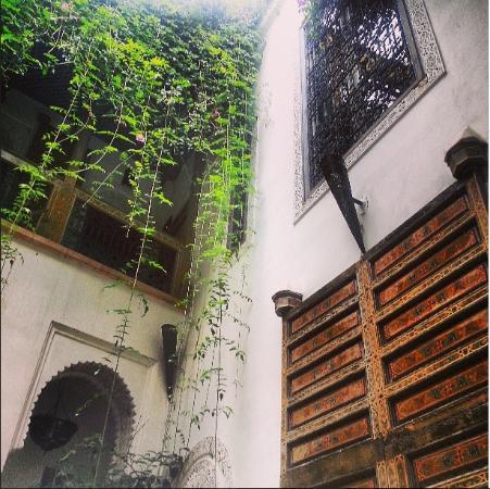 Riad Dar Eliane: Our Bedroom door