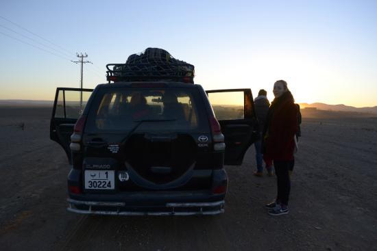 Dar Bouanania: desert trip sunrise