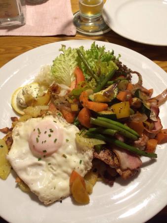 Waldgasthaus Triendlsäge: Очень вкусно
