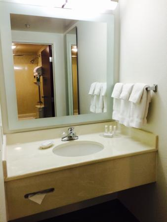 SpringHill Suites Seattle Downtown/South Lake Union: Bathroom vanity