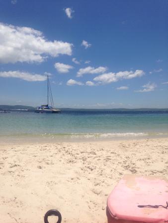 Port Stephens Marina Resort: Swimming bay