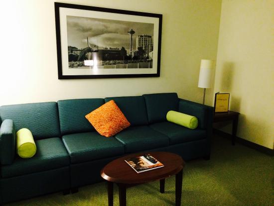 SpringHill Suites Seattle Downtown/South Lake Union: Sitting area