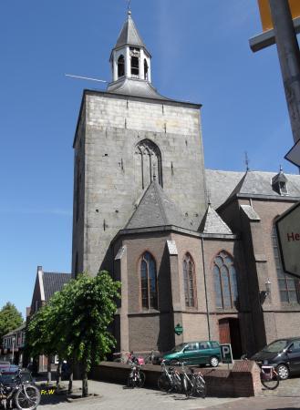 De kerk van Tubbergen .