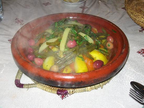 Restaurant Nejjarine : Beef tagine with green beans