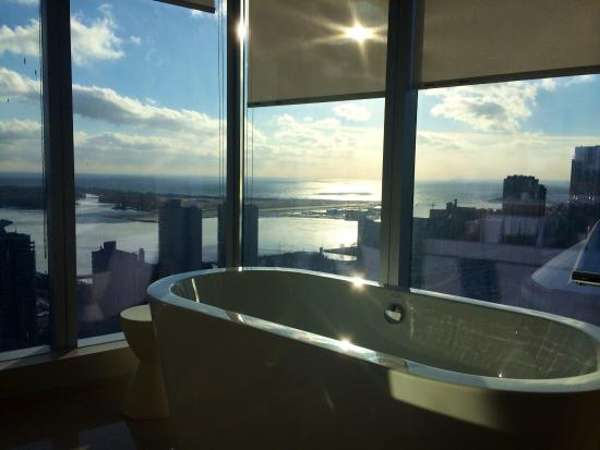 Epic View Bathroom Picture Of Delta Hotels By Marriott Toronto