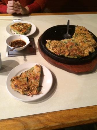 New Seoul Garden Restaurant: チヂミ