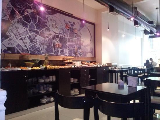 cyan recoleta hotel caf da manh - Cyan Cafe Interior