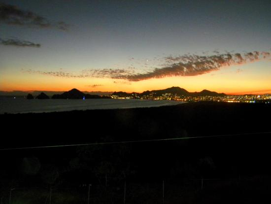 Sunrock Hotel & Residences: Evening view of Cabo from the balcony