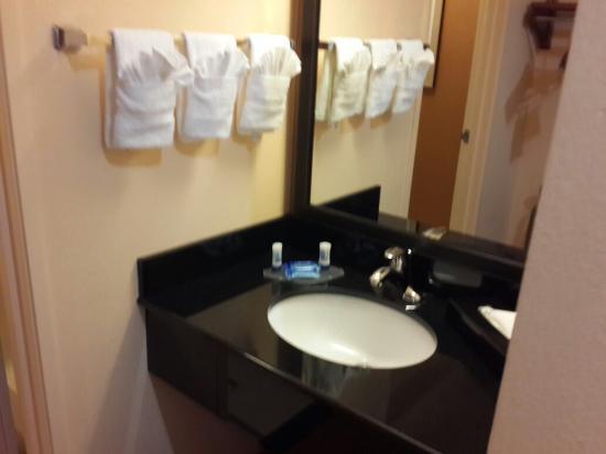 Fairfield Inn & Suites Austin South: Bathroom sink