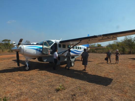 Niassa Wildlife Reservation, Mosambik: Met een Cessna terug naar Pemba.