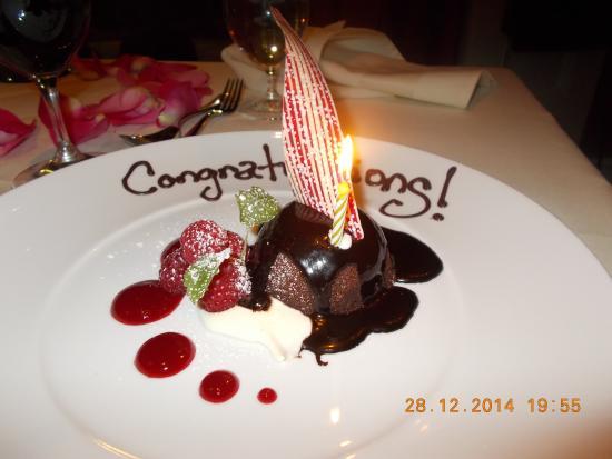 Tiara Restaurant : dessert