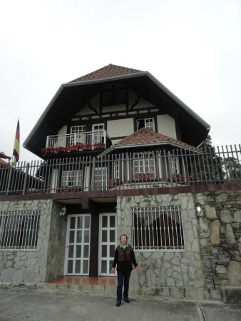 Cabanas Breidenbach: Foto de la Cabaña Principal Area Recepcion planta baja