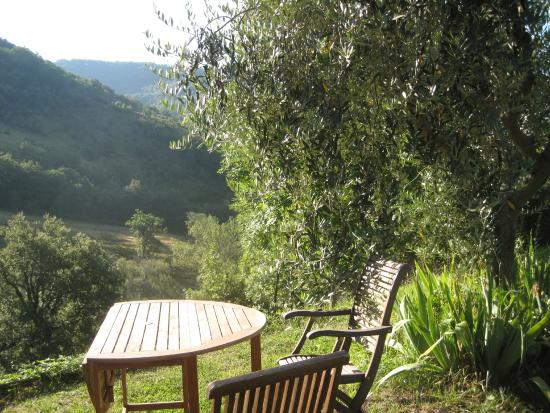 Casa Rosa : View over the hills