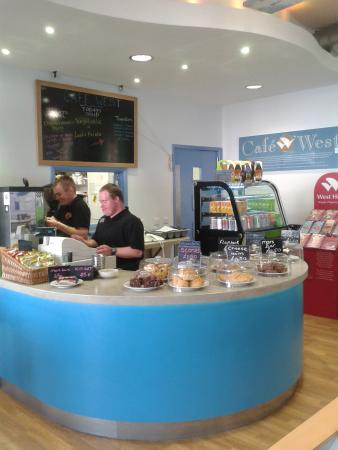 Cafe West Workington Library