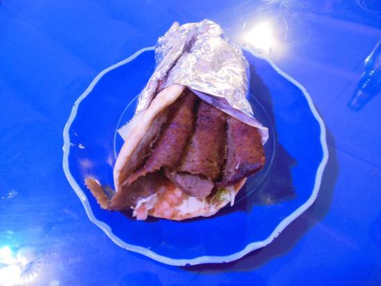 Pickled Greek : Gyro Sandwich
