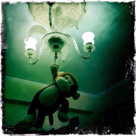 Die Lampe Im Wohnzimmer Picture Of Hostal Marilu Y Nelson