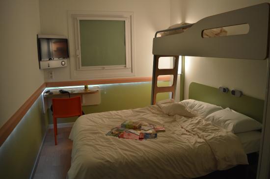 Ibis Budget München City Sued: Vores værelse under opholdet.