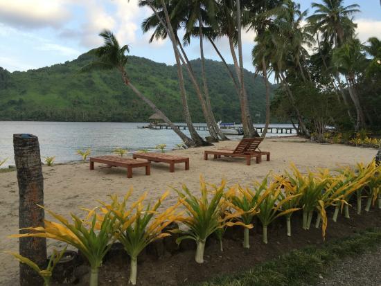 Lalati Resort & Spa: Beach area