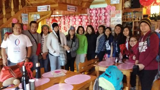 Misty Lodge and Cafe : SMFI SLPO with Misty lodge owners ☺