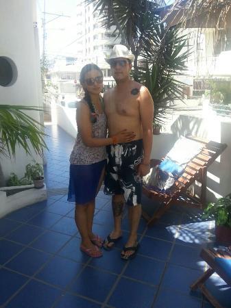 Cocos Hotel: En pasillo