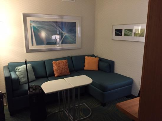 SpringHill Suites Voorhees Mt. Laurel/Cherry Hill : living area