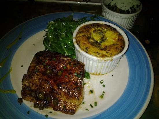 eat here: Mahi and corn casserole