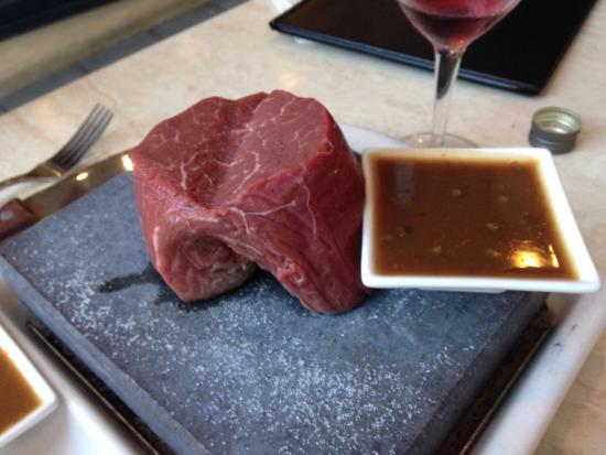 Stonegrill : best eye fillet
