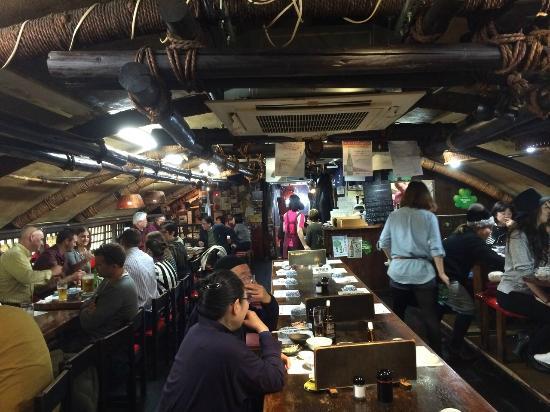 Andy's Shin Hinomoto : The restaurant
