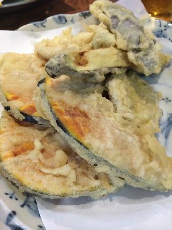 Andy's Shin Hinomoto : Vegetale tempura