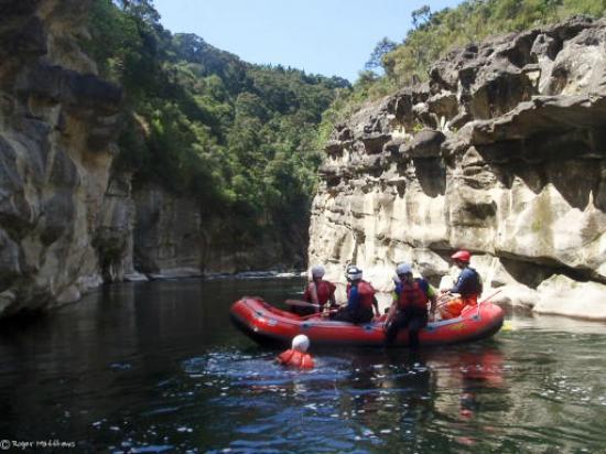 Mohaka Rafting: Gorge on the Mohaka River
