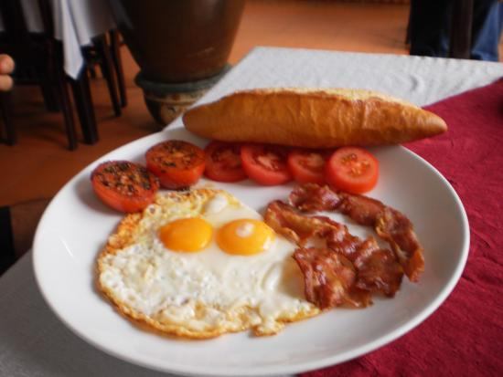 Red Dragon Restaurant: breakfast