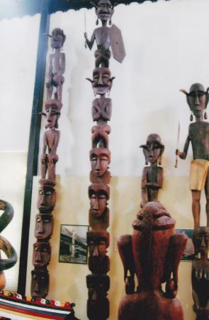 Sarawak Museum: Totem pole