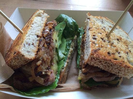 Top Shop: Steak sandwich with onions