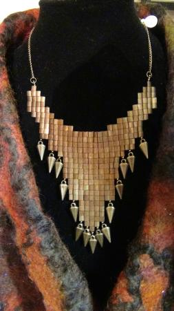 Carnegie Art Center: Jewelry of local artists for sale in the gift shop