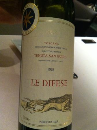 Xex West: Nice Red Wine produced in San Guido, Toscana, Italy