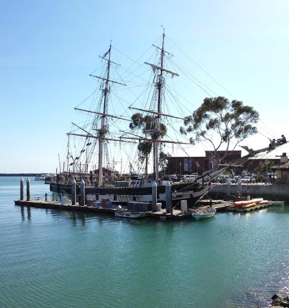 Dana Point, Kaliforniya: Historic siling ship