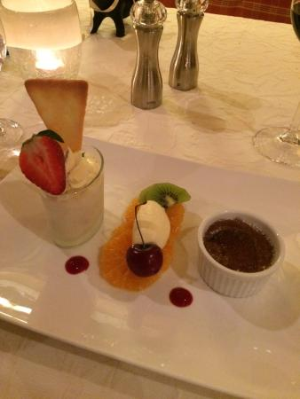 Aktiv & Spa Hotel Alpenrose: Dessert