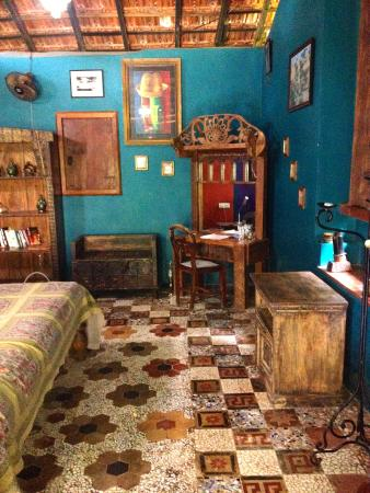 Casa Susegad: The ancient flooring in the Hosts' Suite