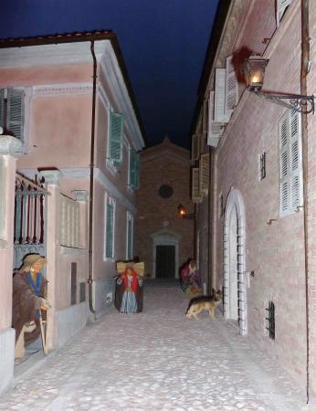 Acquaviva Picena, Ιταλία: Particolare del presepe