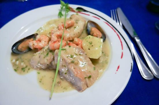 El Templete: Main dish